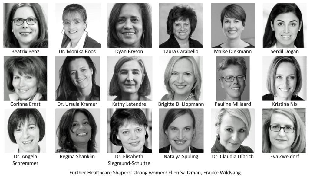 How 20+ powerful women of the Healthcare Shapers support your business